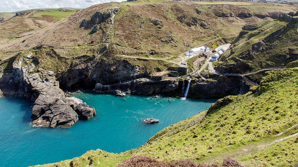 Tintagel Castle in Cornwall: day out with English Heritage