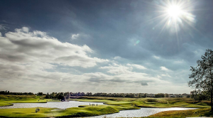 Photo of the golf course for the Ryder cup
