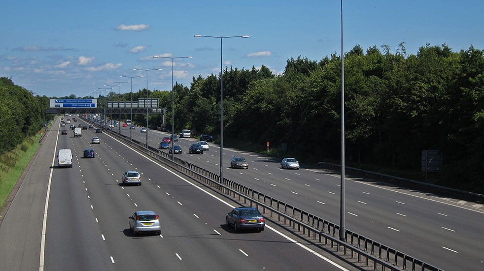 Save money as a new driver: driving on the motorway