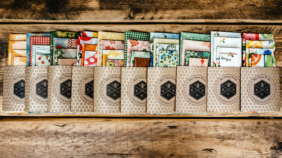 Ways to save the planet: beeswax food wraps by Bee Green Wraps