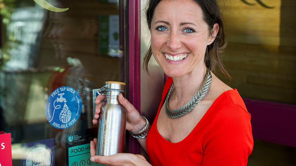 Ways to save the planet: Natalie Fee, founder of the Refill project