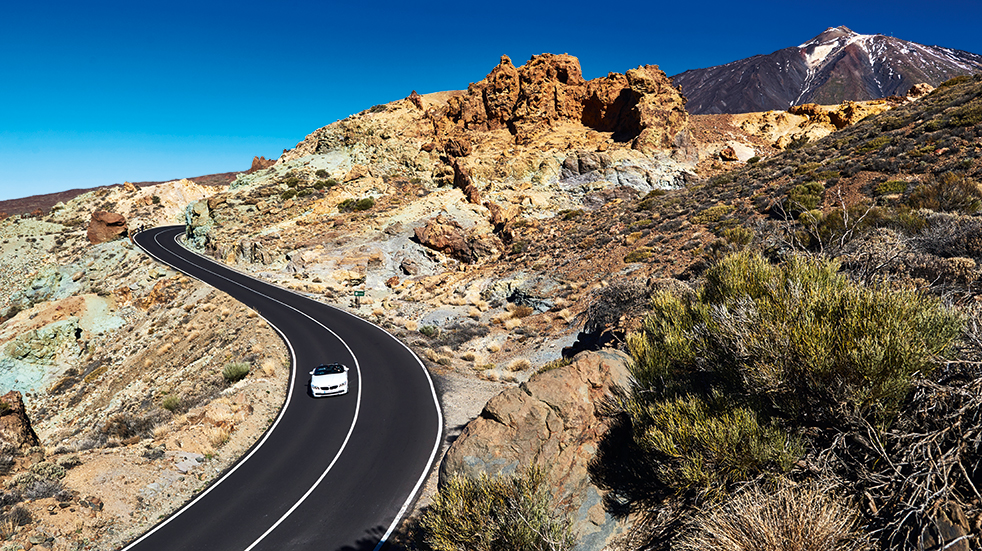 Self drive holiday in Tenerife: BMW Z4