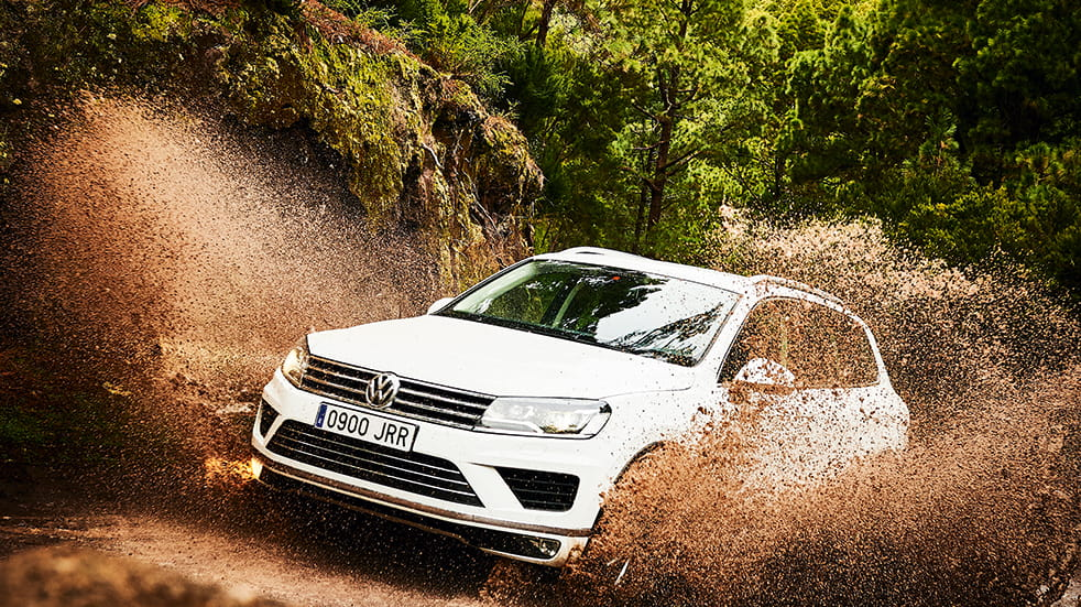 Self drive holiday in Tenerife: VW Touareg 4x4