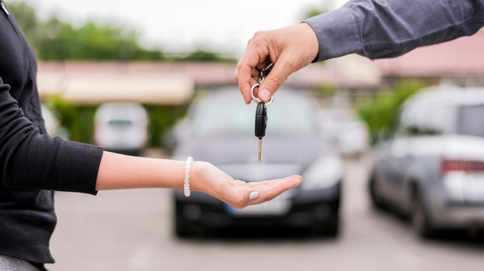 Should you buy a new or secondhand car handing over car keys