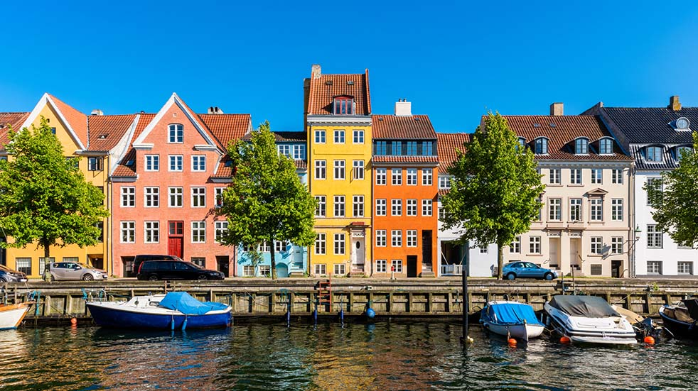 Six of the best European travel destinations Copenhagen street