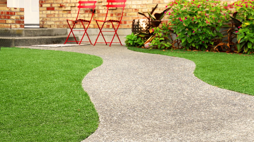 Spruce up your garden with artificial grass