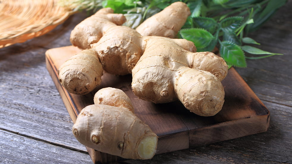Stay healthy in winter: add ginger to your diet