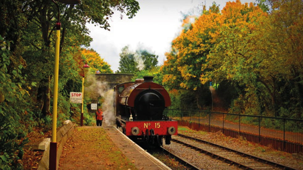 Steam train family day out Avon Valley Railway