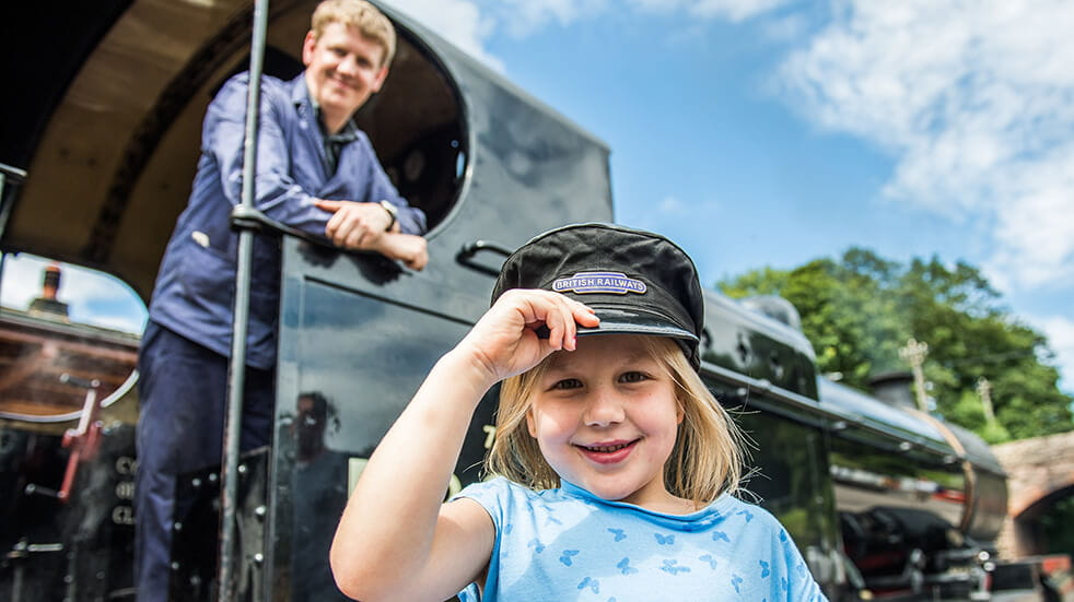 Steam train family day out West Somerset Railway