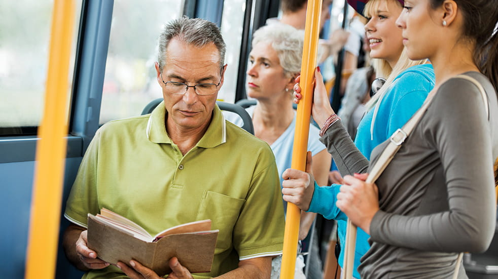 Stress awareness month: read on commute while travelling