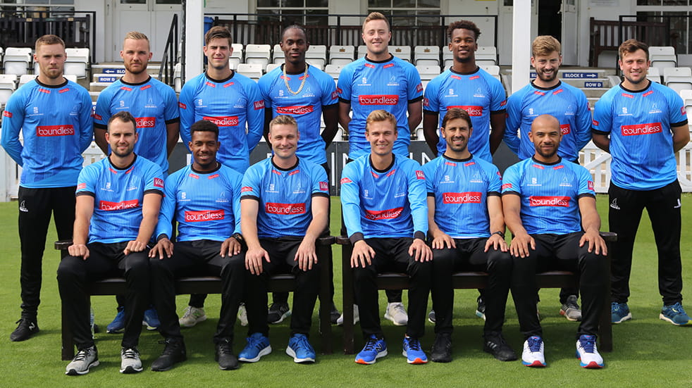 Sussex Sharks T20 Finals Day - official team photo