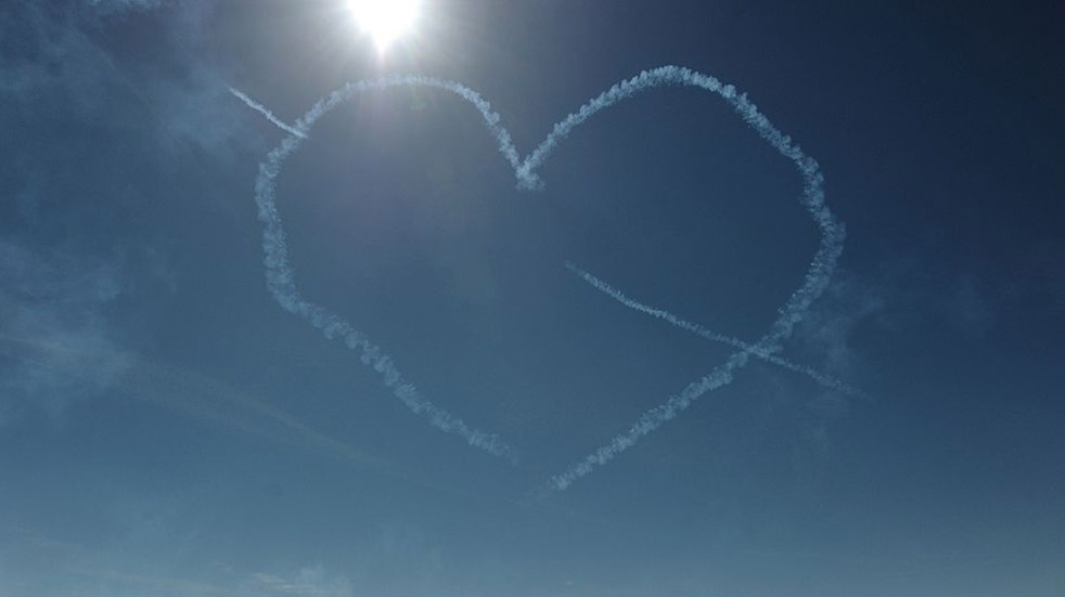 The Red Arrows history heart