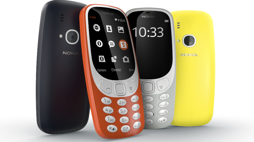 Christmas gift guide Nokia 3310 phone
