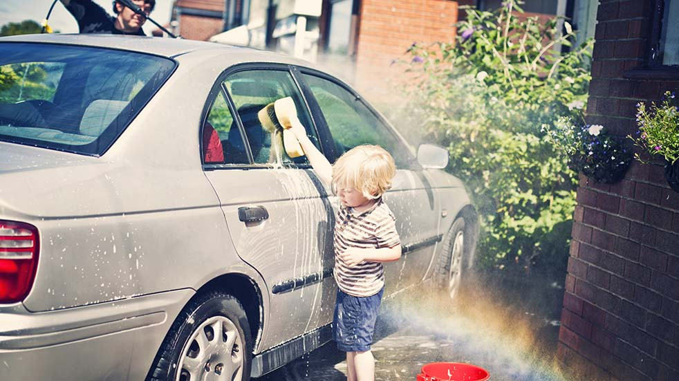 The best YouTube tutorials; car cleaning