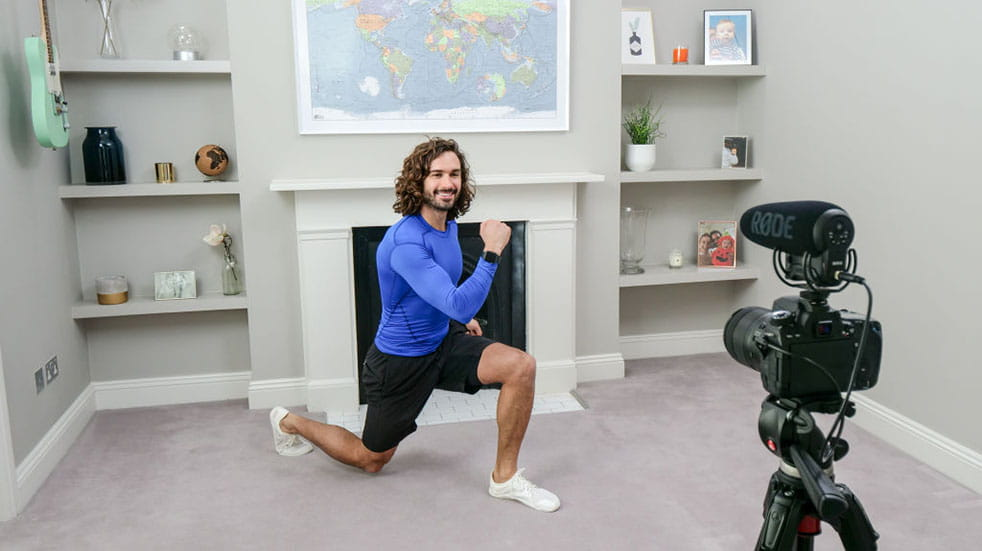 The best YouTube tutorials; Joe Wicks