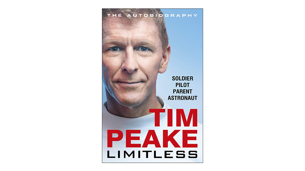 Autumn reads Tim Peake Limitless