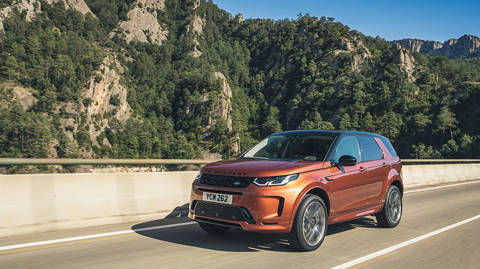 The best new cars for spring 2020; Land Rover Discovery Sport