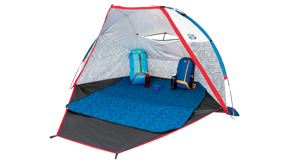 Rainproof gear; tent