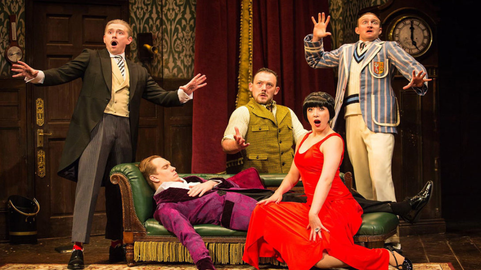 The Play That Goes Wrong theatre tickets