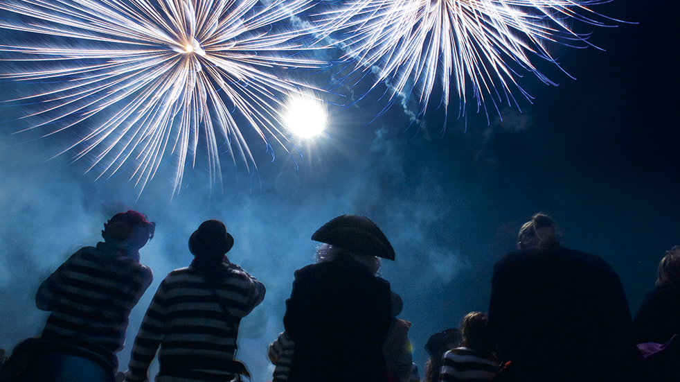 Halloween and Bonfire Night: Lewes in Sussex is the bonfire capital of the world