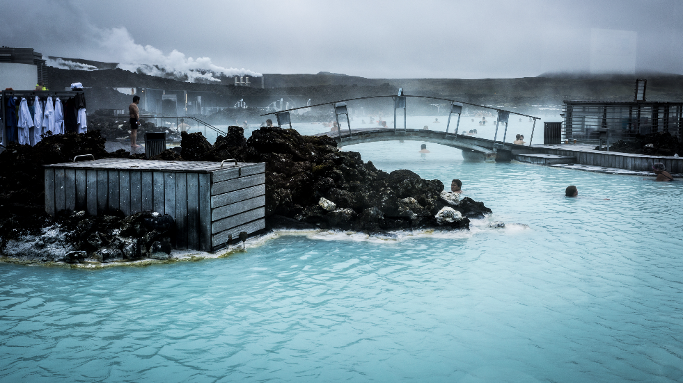Where to experience the thermal waters in Reykjavic Iceland