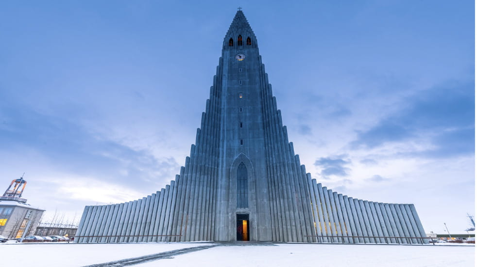 Cultural hot spots in Reykjavic Iceland