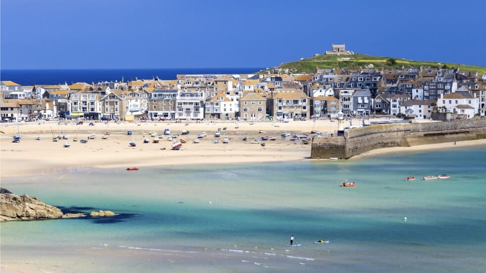 St Ives has one of the best beaches in Cornwall