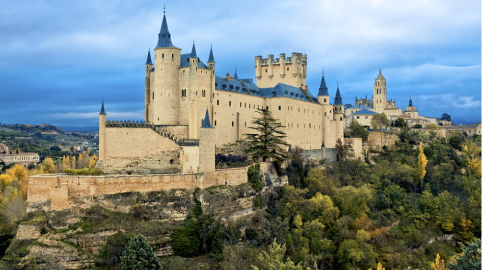Spanish road trip to segovia via salamanca