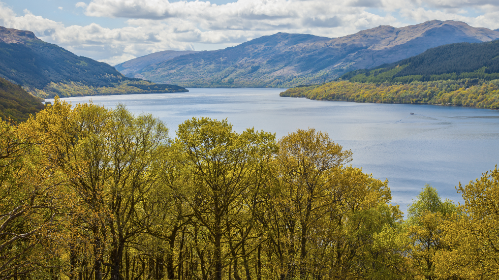 Loch Lomand road trip Scotland