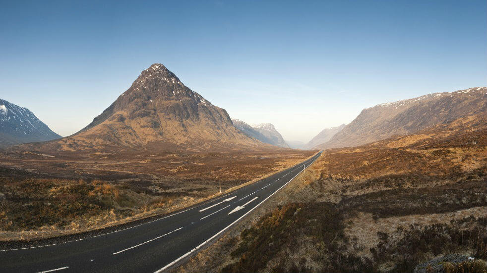 Three scenic road trips through Scotland