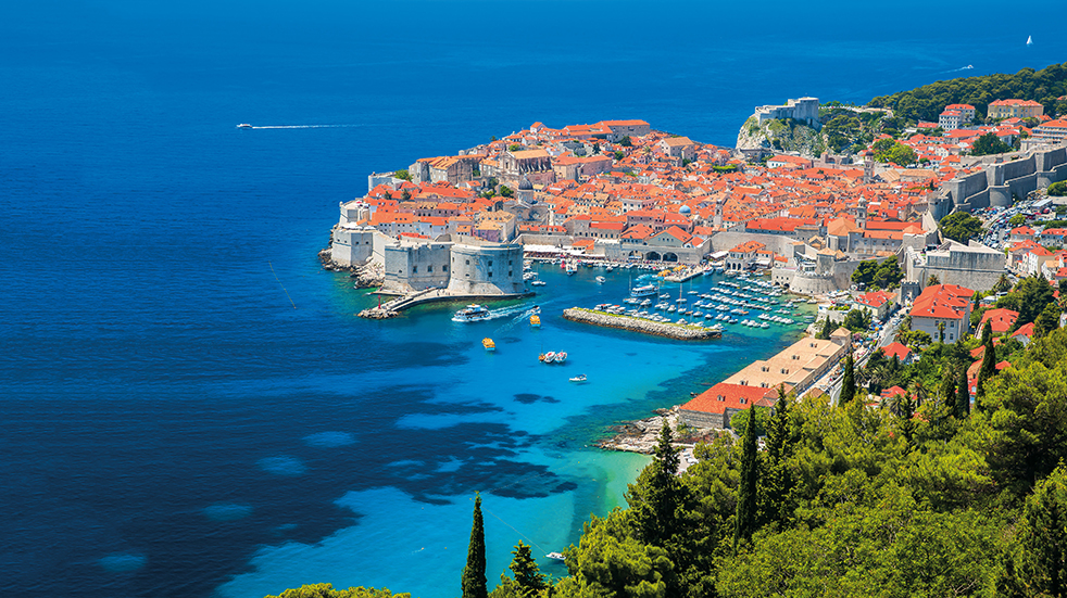 Titan Travel - Old Town in Dubrovnik, Croatia
