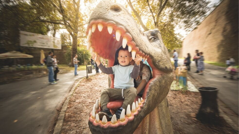 The best dinosaur attractions and days out