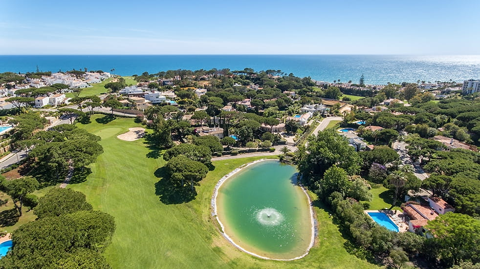 Top 2019 holiday destinations: golf in the Algarve