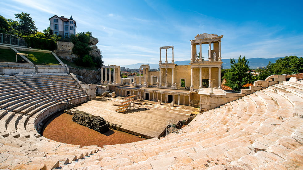 Top 2019 holiday destinations: Plovdiv Roman theatre
