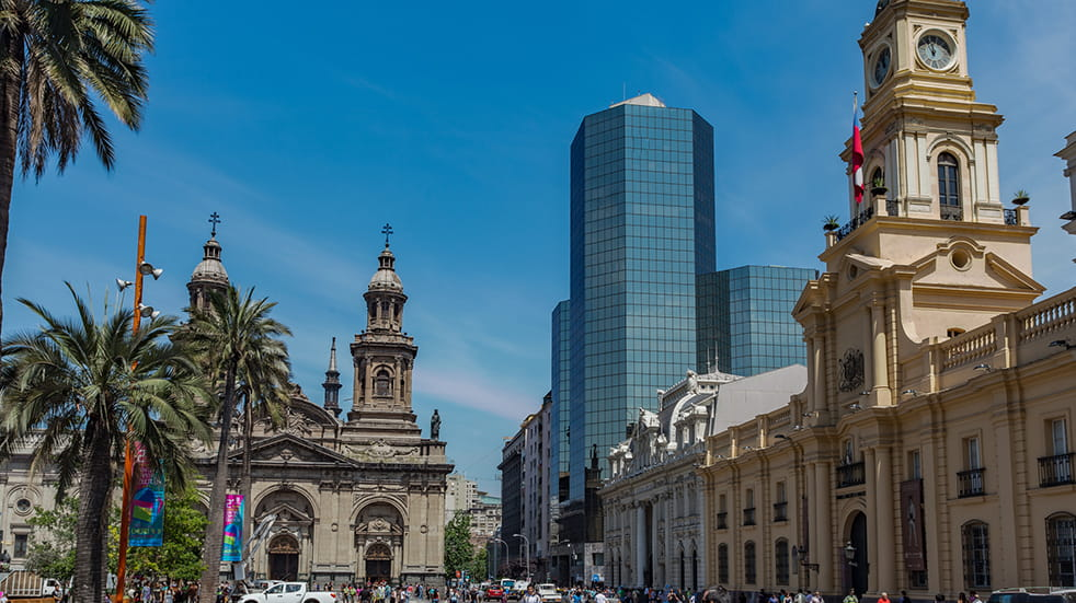 Top 2019 holiday destinations: Santiago, Chile