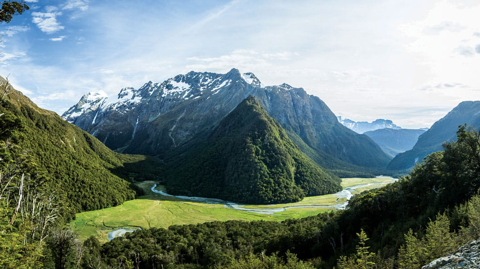 The South Island's Routeburn Trail is one of New Zealand's best hikes