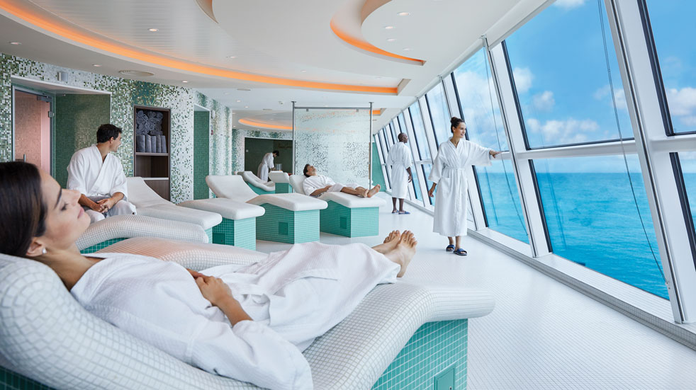 There's plenty of time to relax on a cruise round the Caribbean