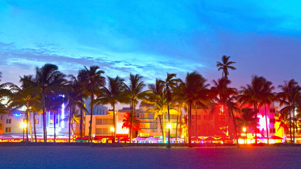 There's plenty to entertain in sultry Miami