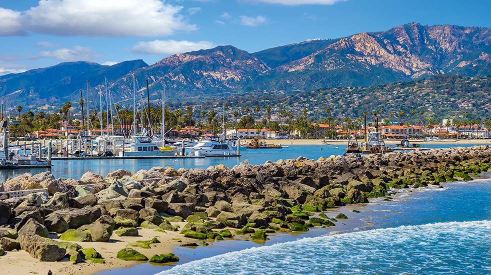 American Sky holiday destinations: Santa Barbara in California