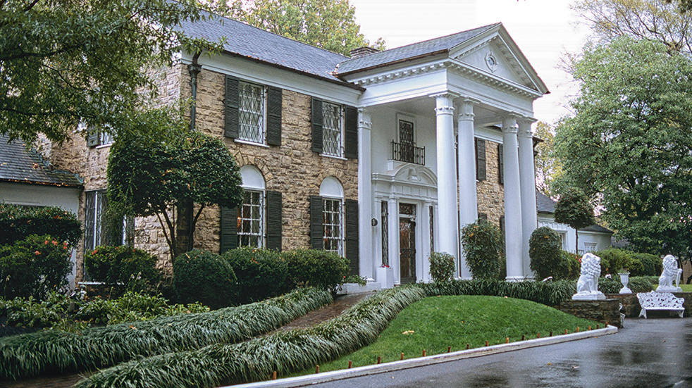 American Sky holiday destinations: Elvis' Graceland home in Memphis