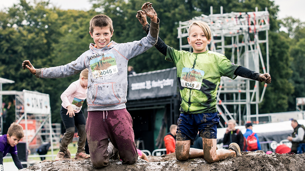 Family sports and fitness - Mini Mudder