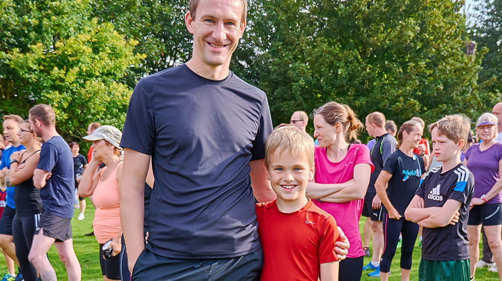 Family sports and fitness - Parkrun