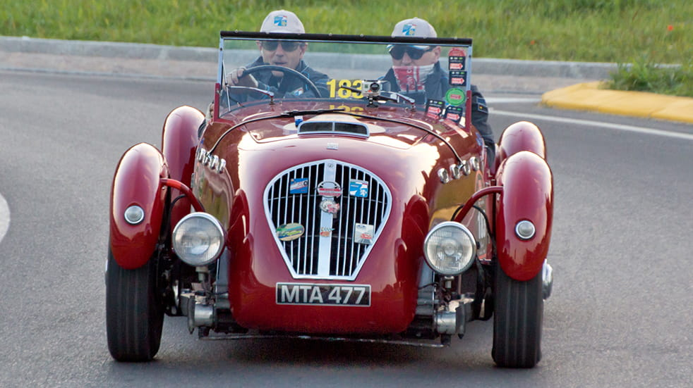 UK car shows 2018: classic car racing