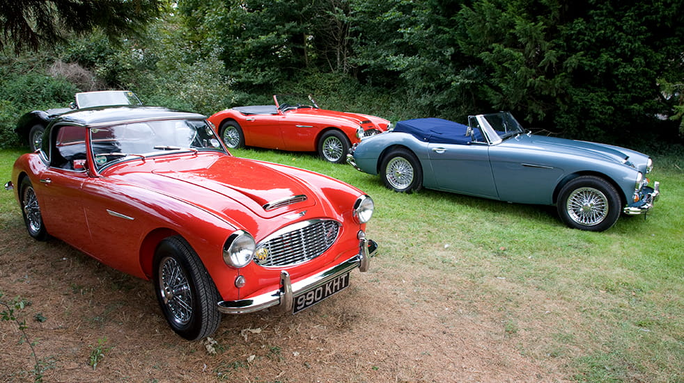 UK car shows 2018: classic car event