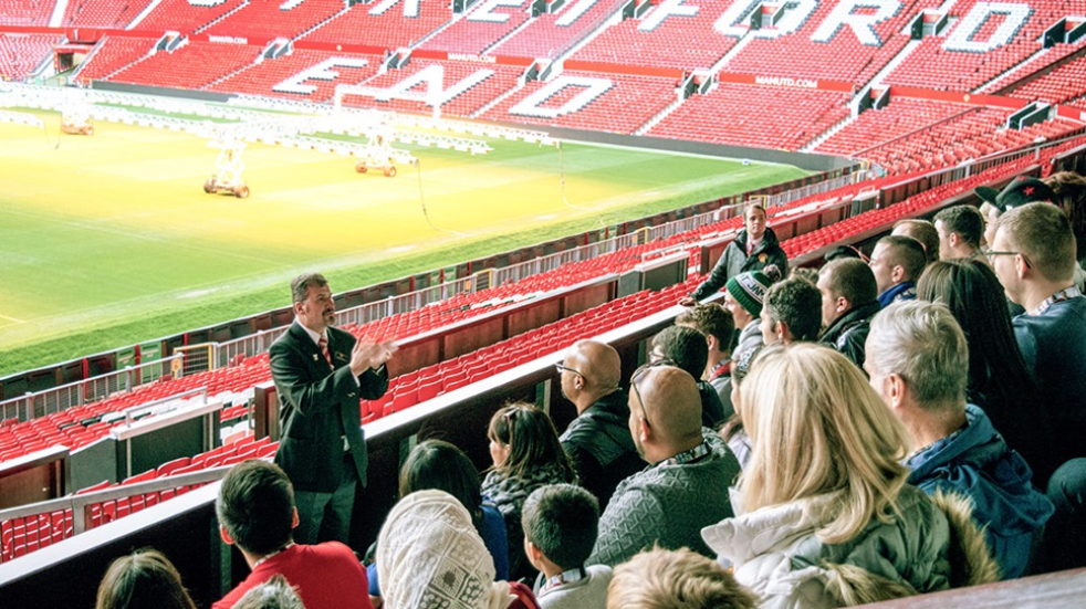 Old Trafford football stadium tour