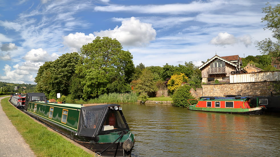 Enjoy life in the slow lane with a UK canal holiday