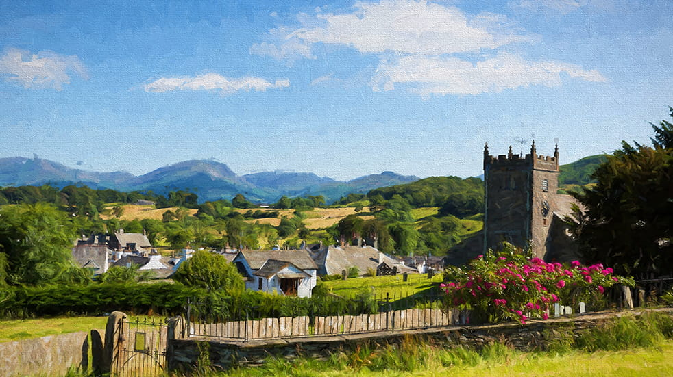 Paint some of the UK's most beautiful scenery in the Lake District