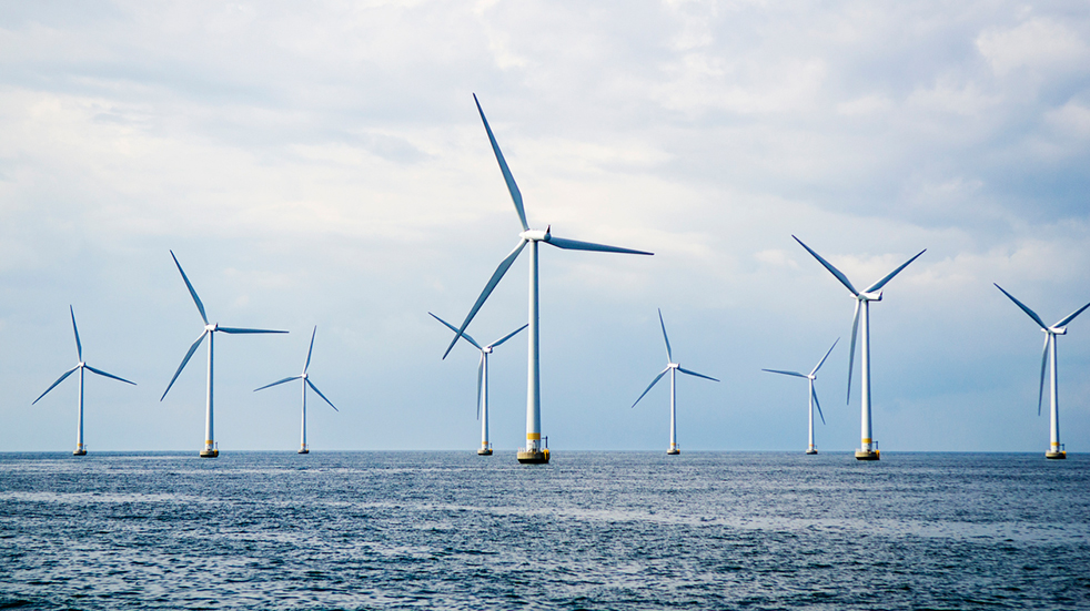 Unusual UK days out: offshore wind farm