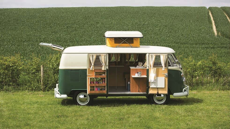 Lovely old camper