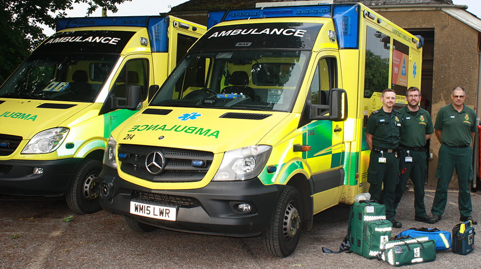 Volunteer for the NHS - Community First Responders